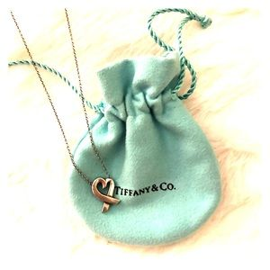 Tiffany & Co Paloma Picasso Loving Heart Necklace